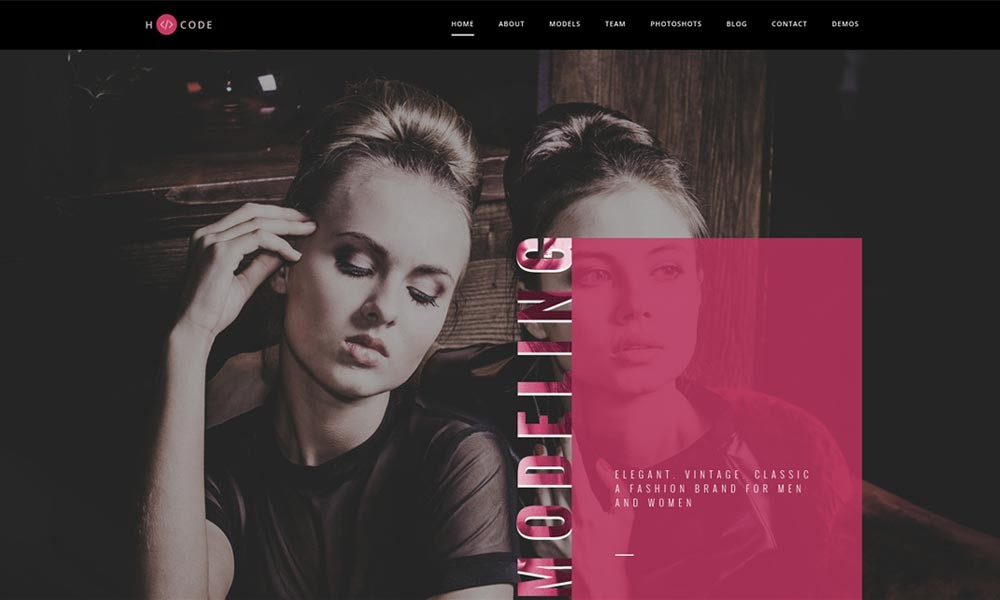 H-Code Multipurpose OnePage and Multi Page Template