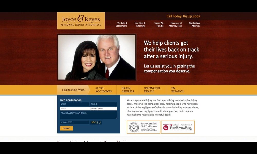 Joyce & Reyes Law Firm, P.A.