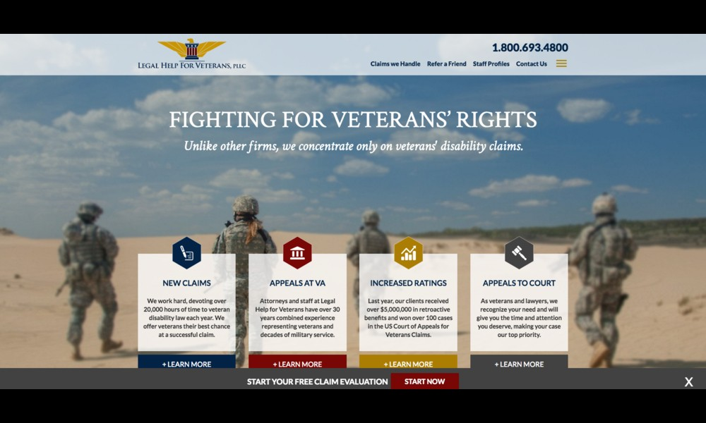 Legal Help for Veterans, PLLC