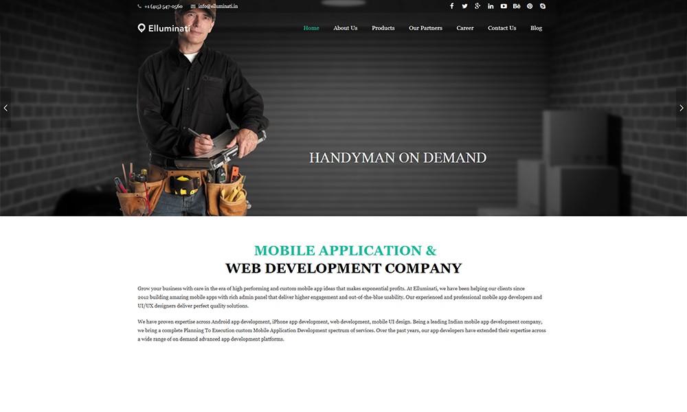 on demand Mobile App Development Company Elluminati