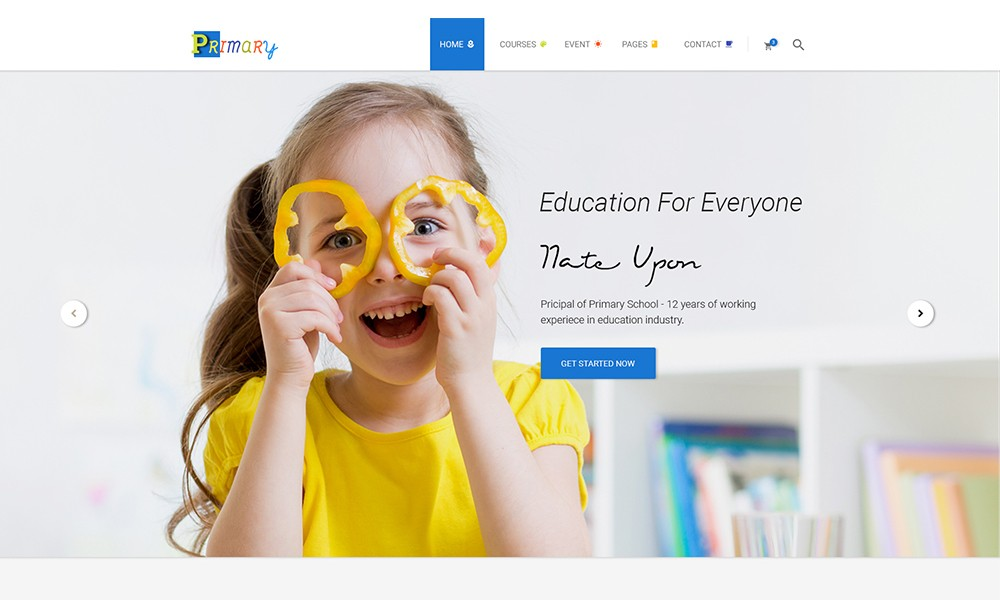 Primary - Kindergarten WordPress Theme