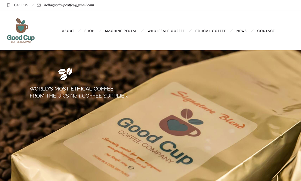 Good Cup Coffee Suppliers