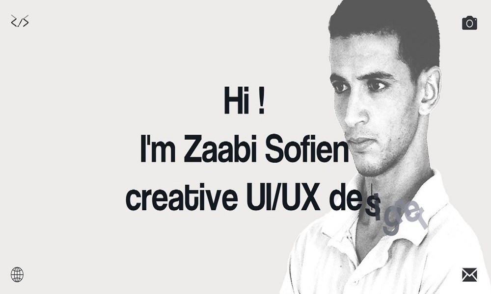 Sofien Zaabi creative designer and Web Developper