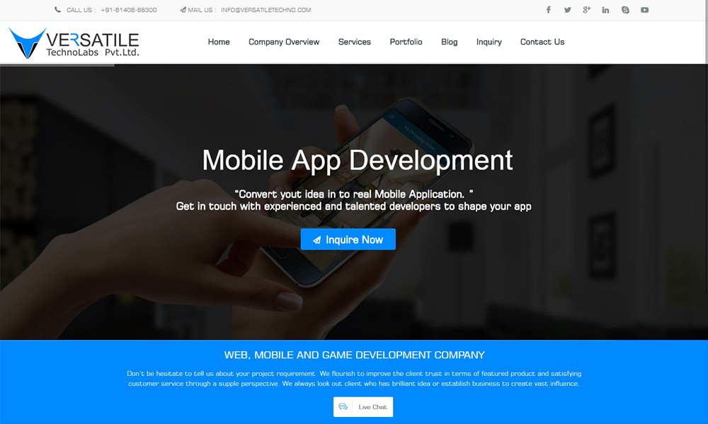 Versatile Techno - Mobile App Development