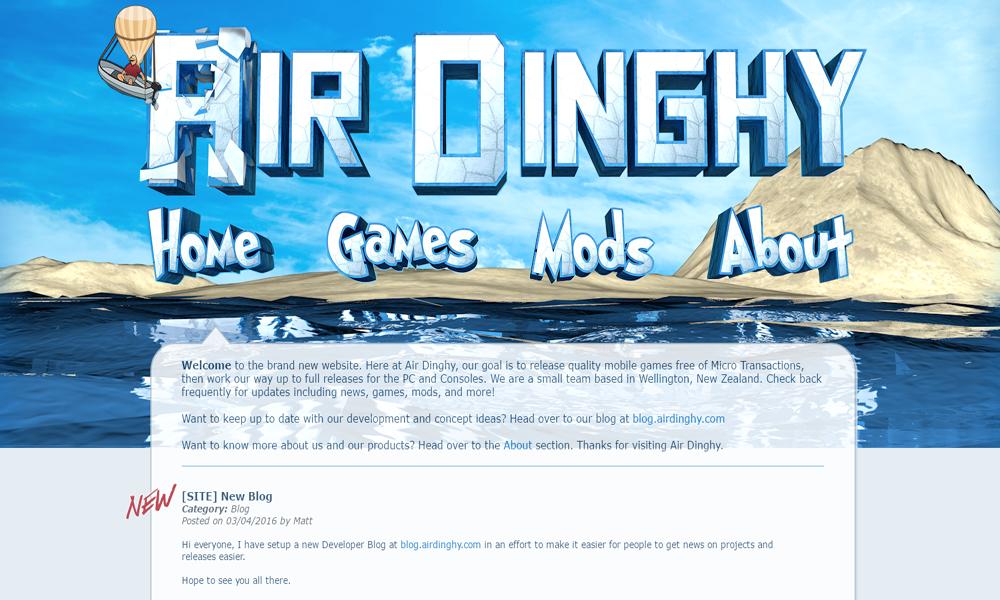 Air Dinghy Interactive