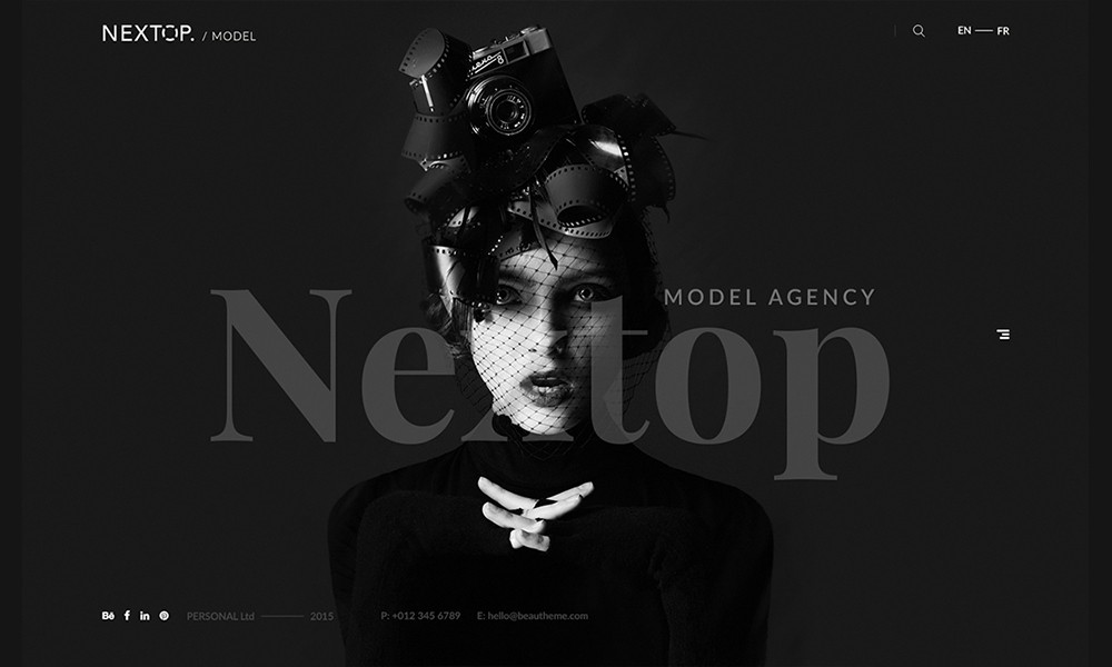 Nextop WordPress theme