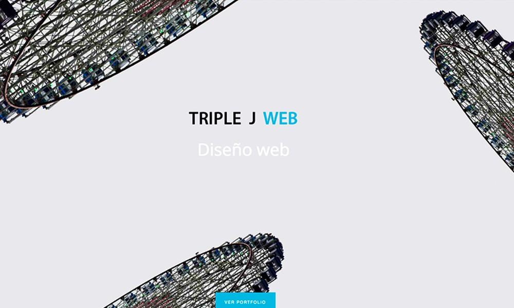 Triple j web portfolio
