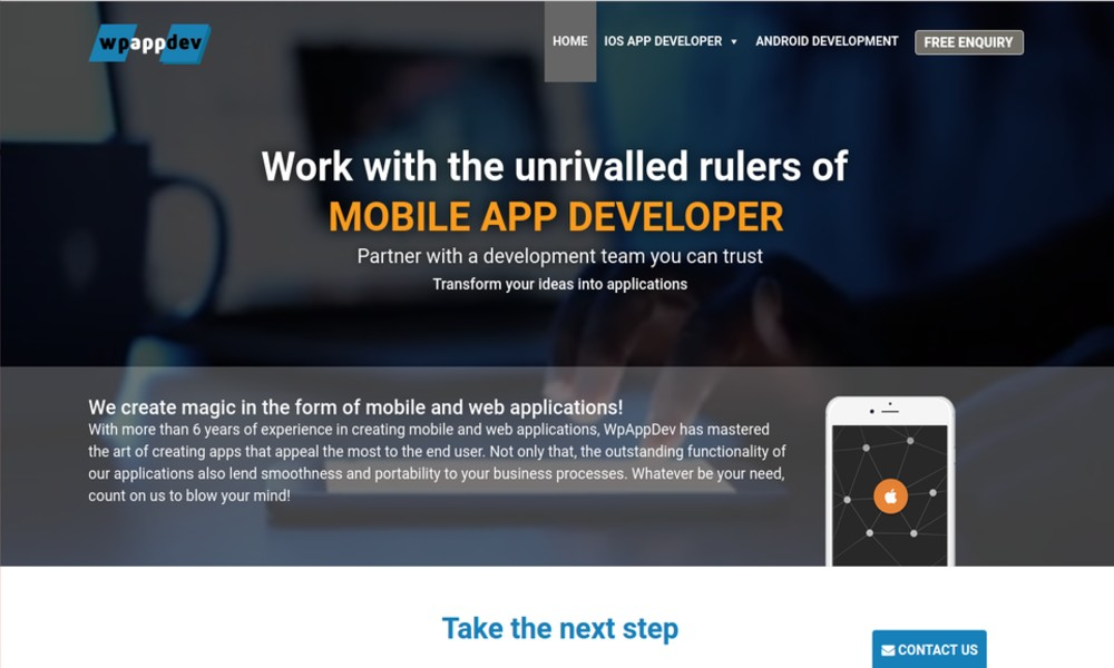 WAD | Mobile Application Development Company