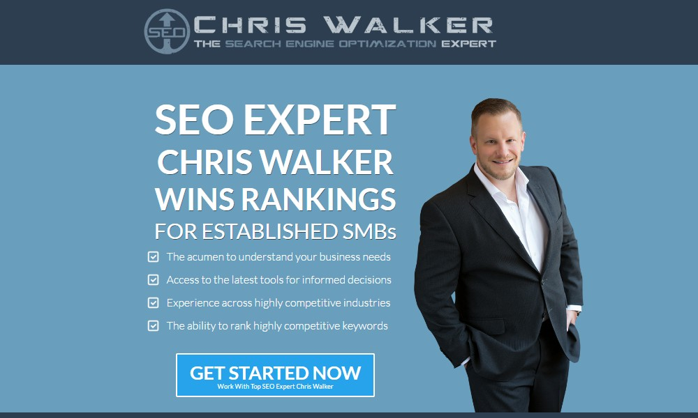 Chris Walker - The Search Engine Optimization Expert
