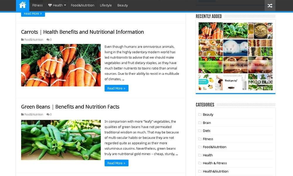 Healthy Living benefits