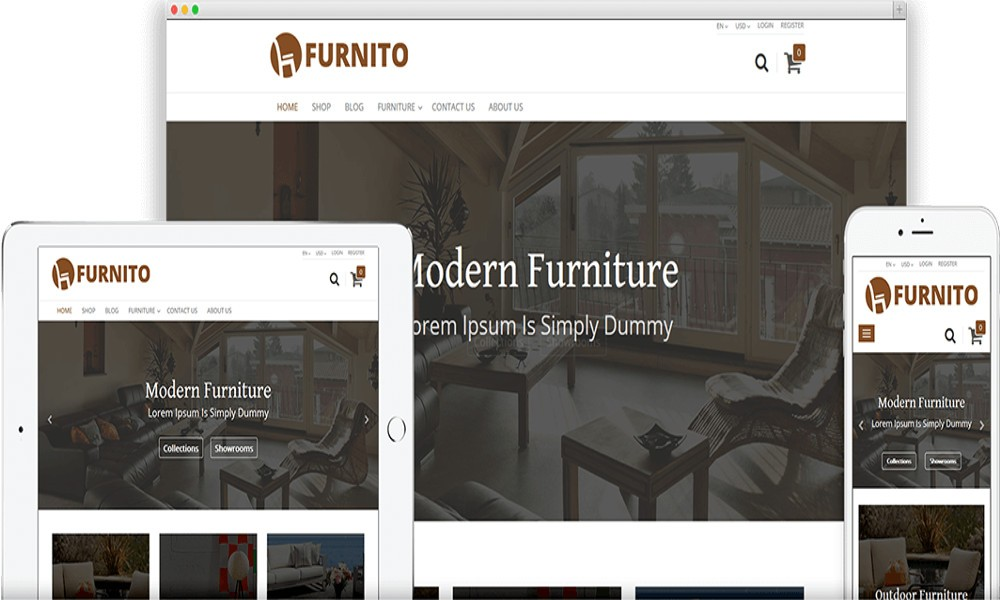 Odoo Furnito Ecommerce Theme