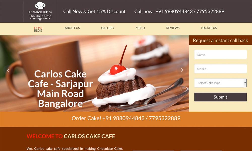 carlos cake cafe