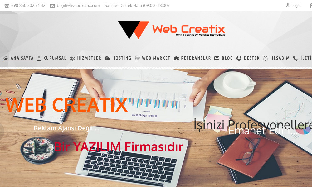 WebCreatix - Web Development Studio