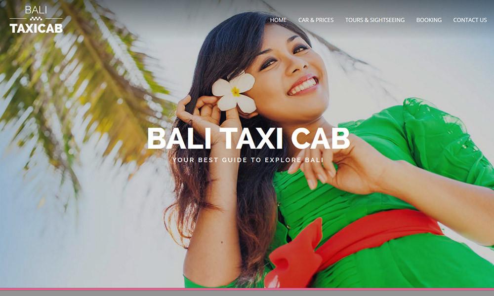 Bali Taxi Cab