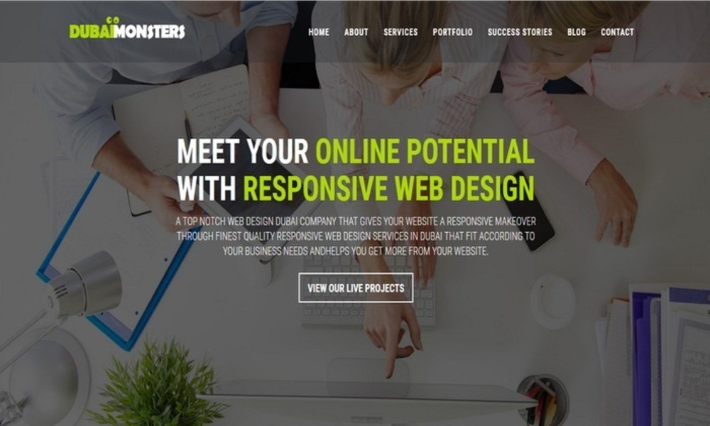 Dubai Monsters - Web Design Company
