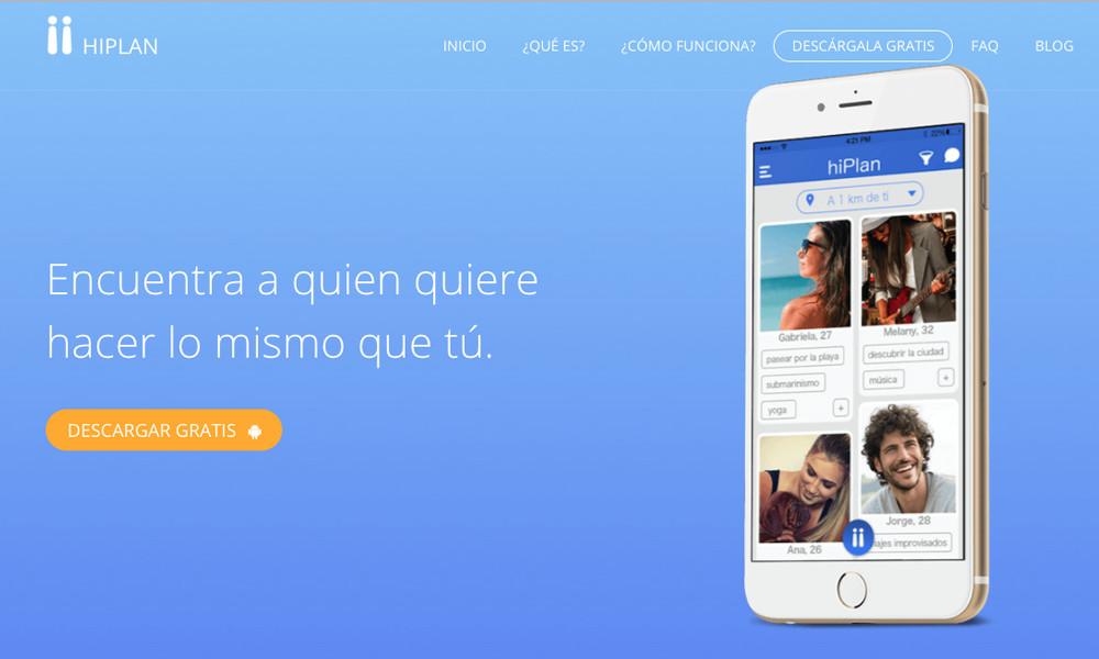 HIPLAN.  App para conocer gente