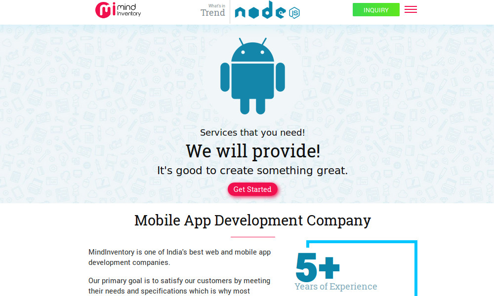 Mindinventory - Mobile App Development Company