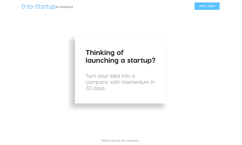 0-to-Startup