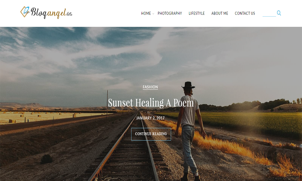 BlogAngel Lite – Free Blog Theme