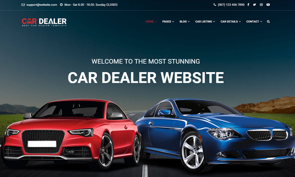 Car Dealer - The Best Car Dealer Automotive Responsive HTML5 Template