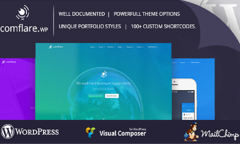 Comflare - Multipurpose WordPress Theme
