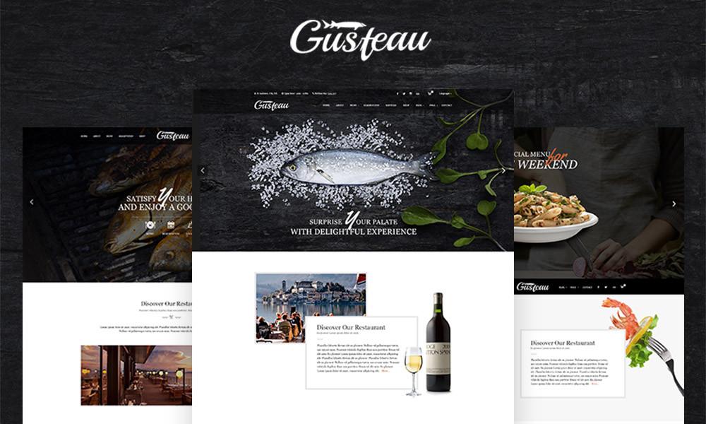 Gusteau Coffee and Restaurant WordPress Theme