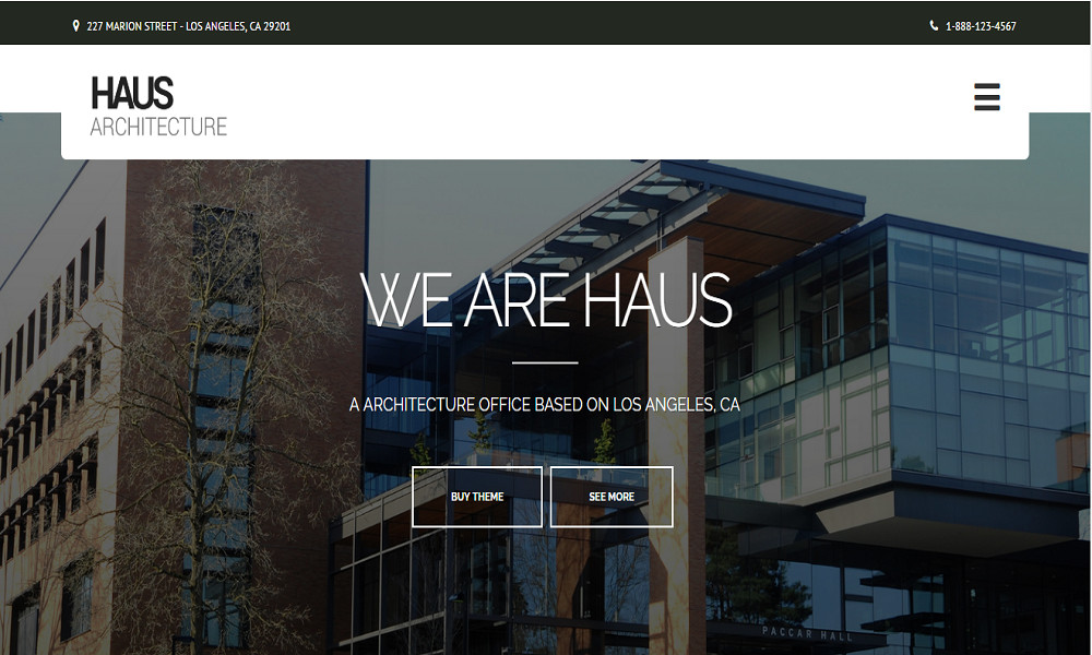 Haus - Architecture Theme for Architects