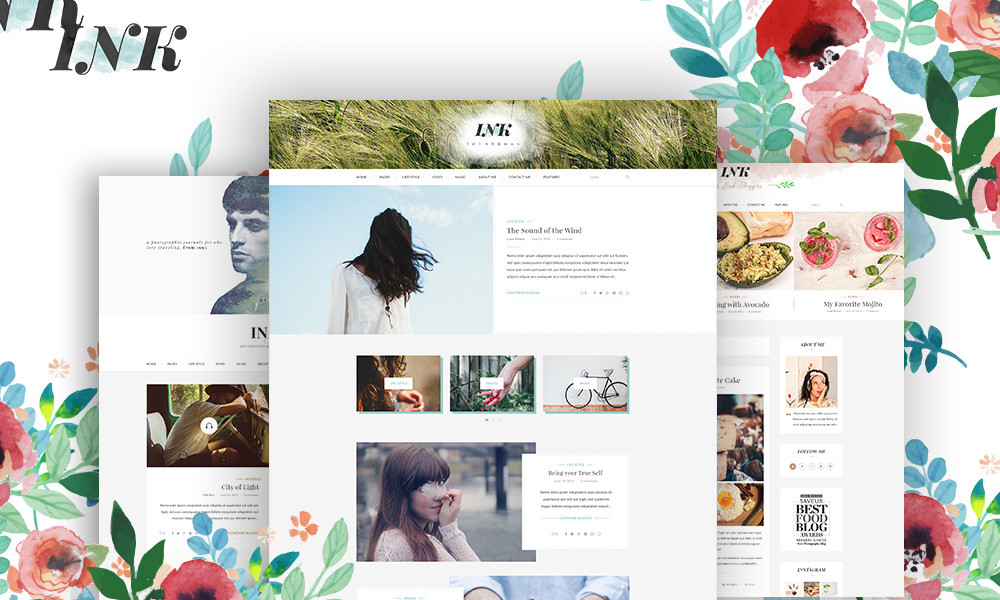 Ink Magazine Blog WordPress Theme