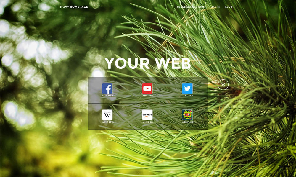 Novy Homepage