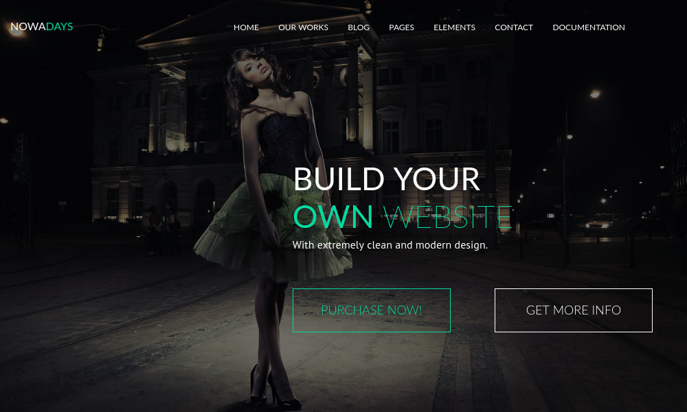 NowaDays - Multipurpose One/Multipage Creative HTML5 Template