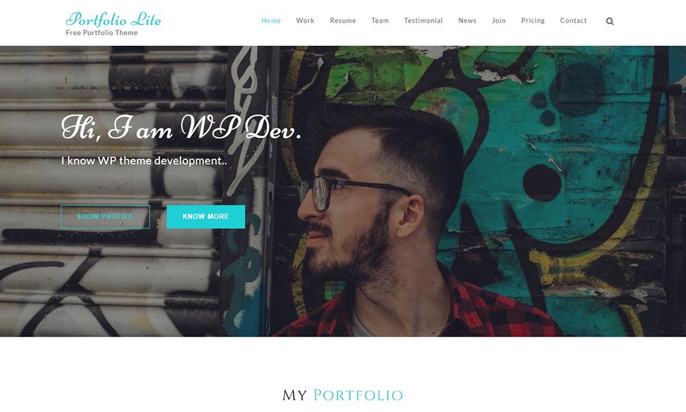 PortfoiloLite- Multipurpose Showcase Theme