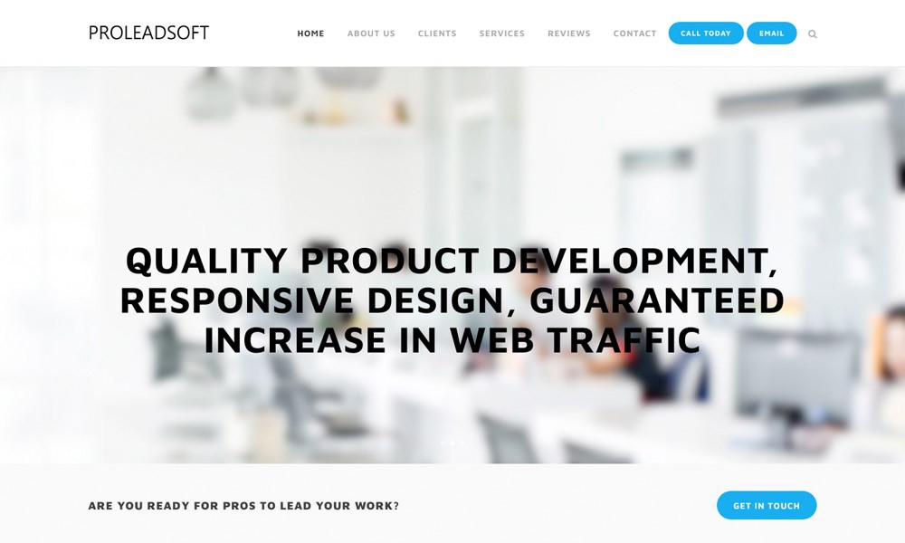Pro Lead Soft - App Development Company