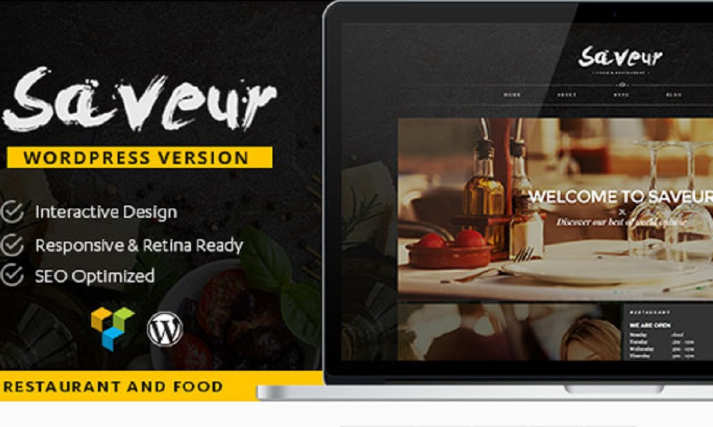 Saveur - Food & Restaurant WordPress