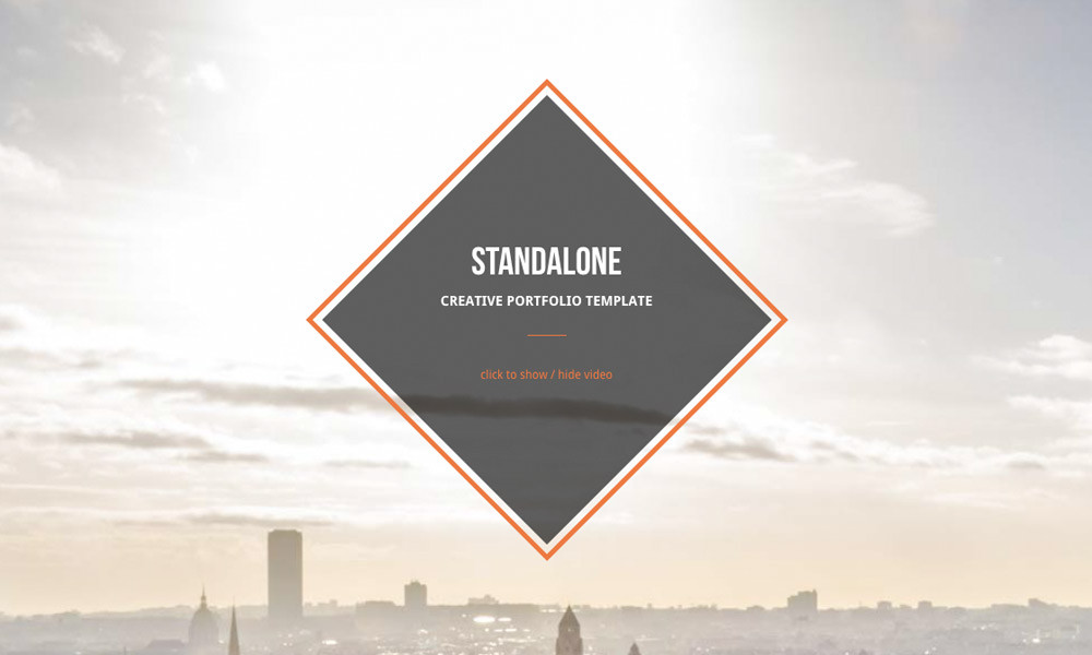 StandAlone - Creative Portfolio WordPress Theme