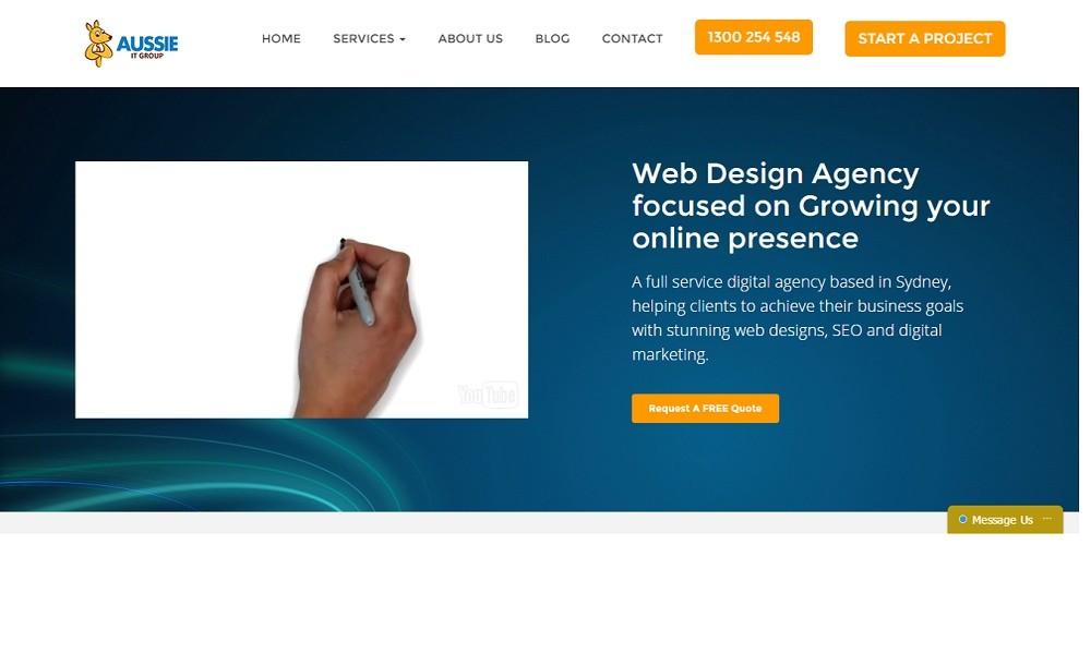 Web Design Agency in Sydney