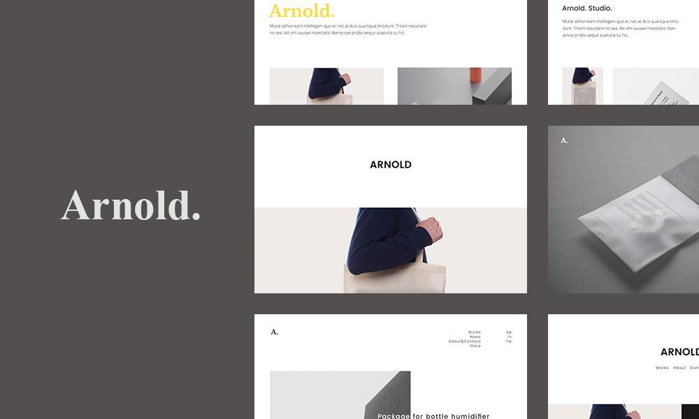Minimalist WordPress - Arnold.