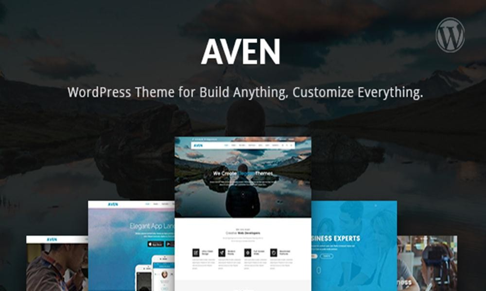 Aven  Feature Packed Multi Use Theme