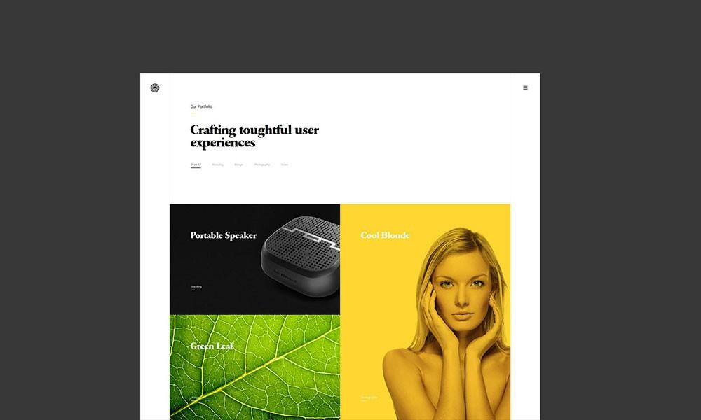 Enfolio - Portfolio Showcase WordPress Theme