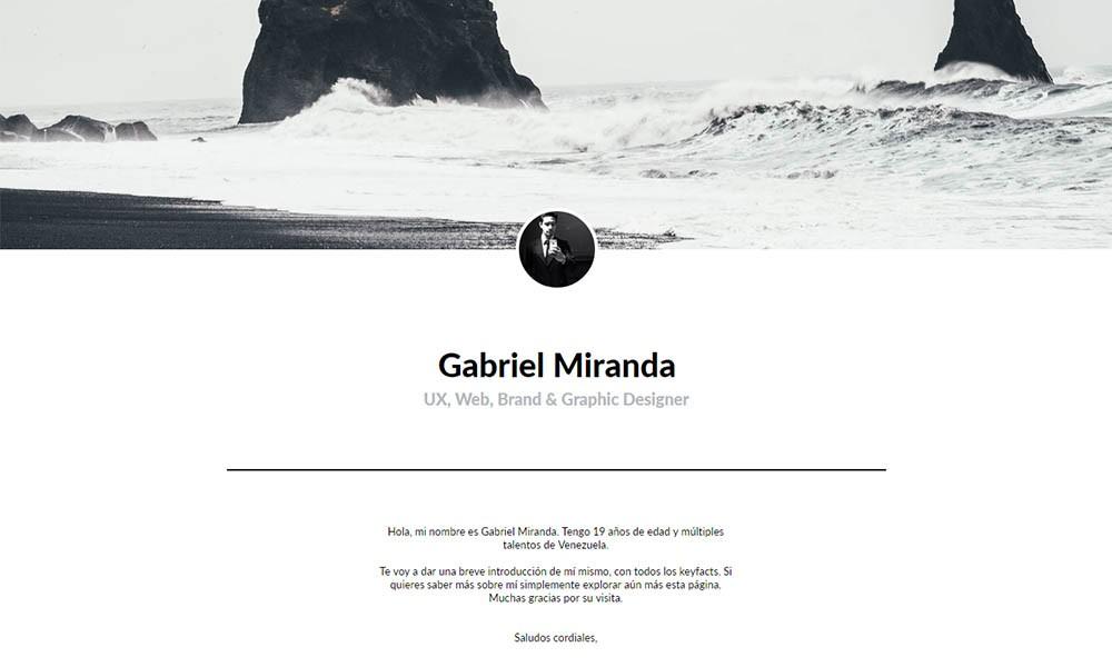 Gabriel Miranda Portfolio