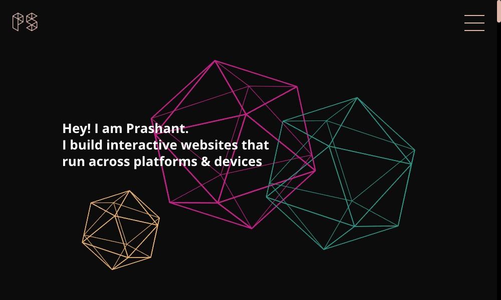 Prashant's Portfolio Website