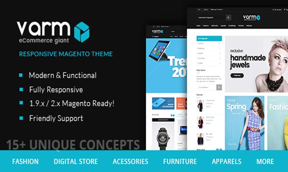 Varmo - Magento Multipurpose Responsive Theme