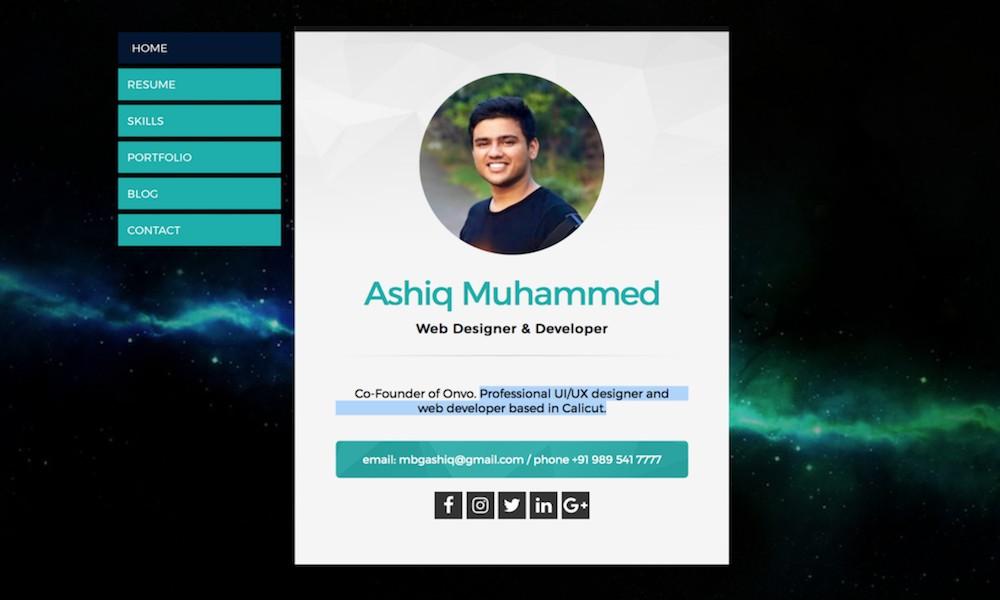 Ashiq Muhammed