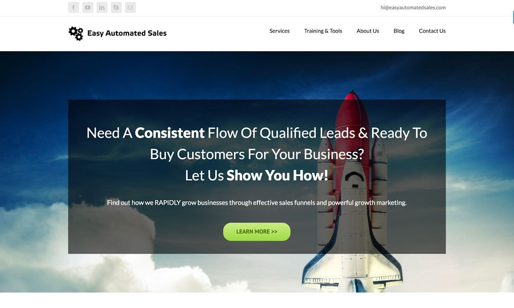 Easy Automated Sales - The Sales Funnel Agency
