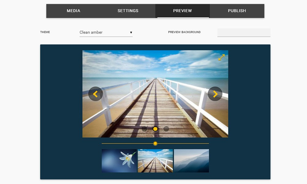 jQuery Photo Slideshow Maker