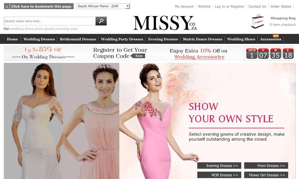 Missydress South Africa