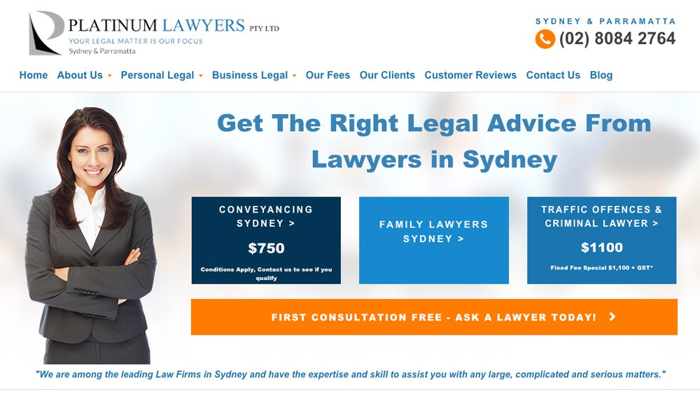 Platinum Lawyers Sydney