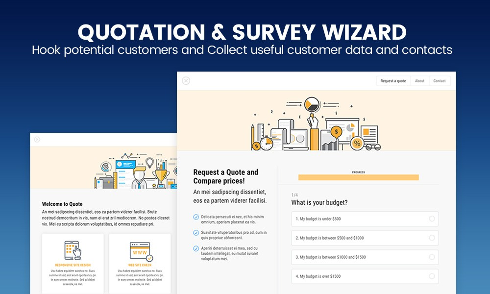 QUOTE - Quotation or Survey Form Wizard