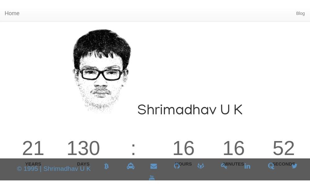 Shrimadhav U K
