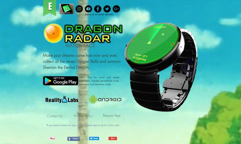 Dragon Radar - Watch Face - Reality Labs