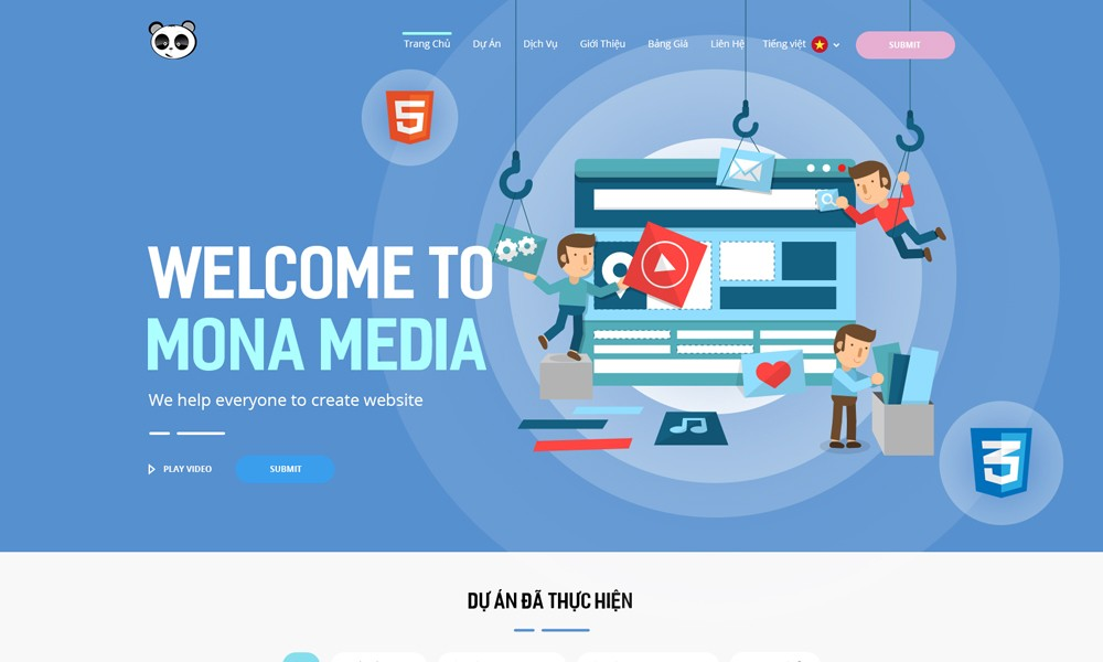 Mona Media Official website
